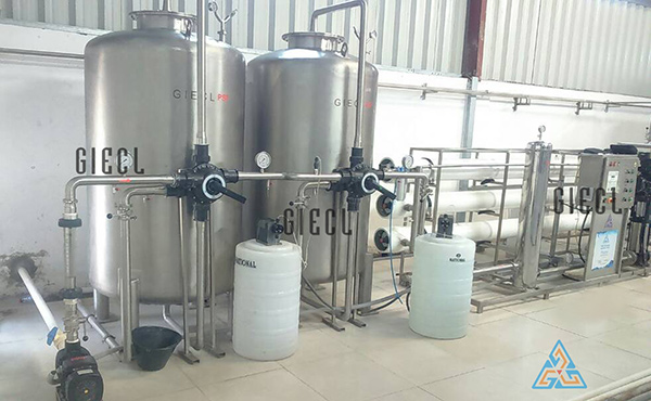 Packaged Drinking Bottling Plant